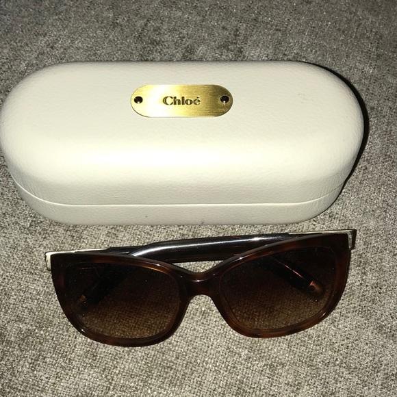10788ec6559e Chloe Accessories - Authentic Chloe Tortoise Shell Sunglasses